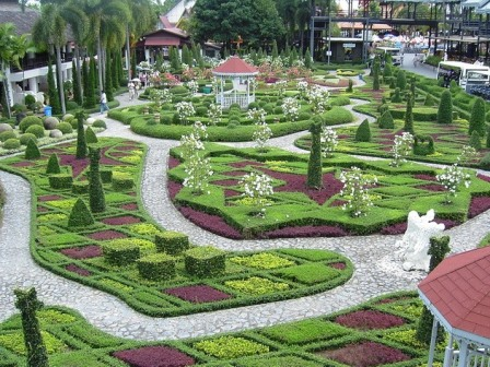 Вид парка Нонг Нуч